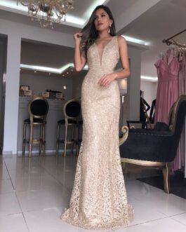 Vestido de festa longo, sereia, para madrinhas, convidadas, formandas, mãe de noiva (o)