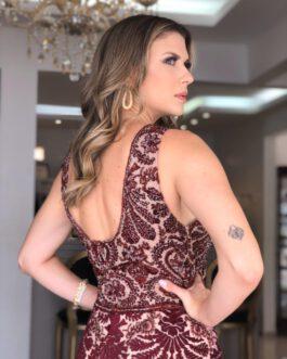 Vestido de festa longo, sereia, para madrinhas, formandas, mãe de noivo (a)